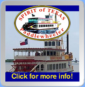 Spirit of Texas Paddlewheeler Cruises